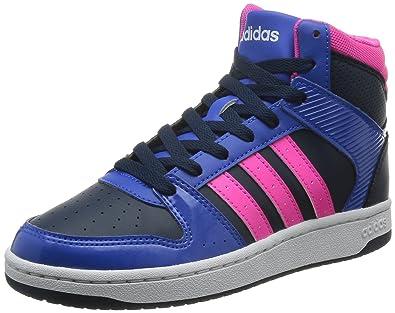 adidas chaussure et brillante montante bleu noir OkXZiPu