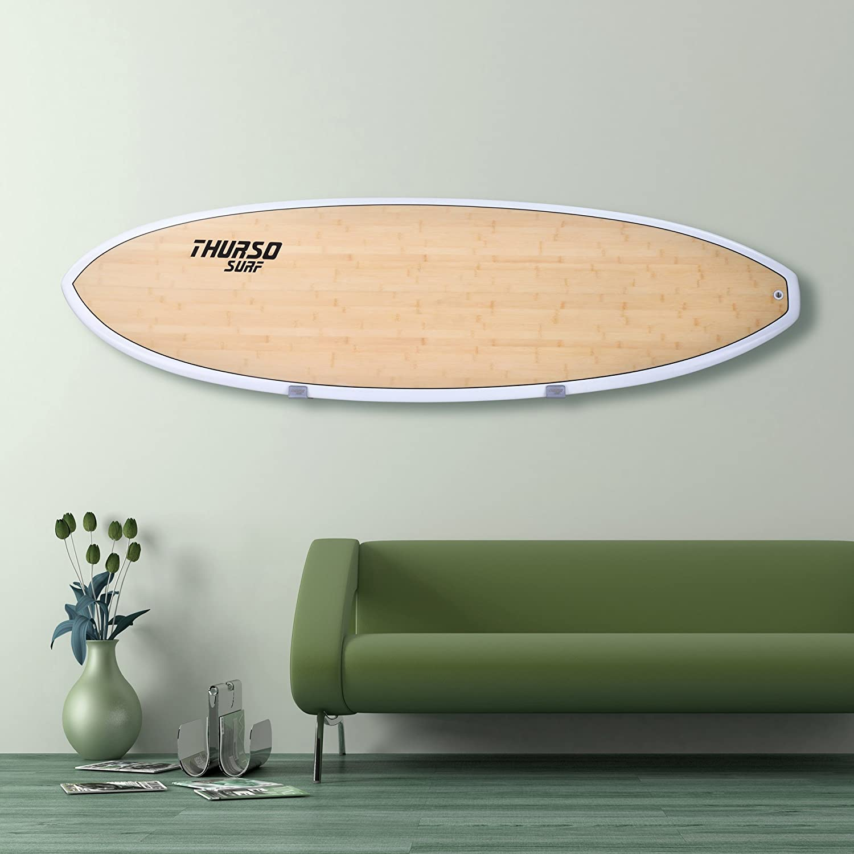 Thurso SURF Minimalist Style Surfboard Wall Rack Longboard Paddle Board Display Storage Wall Mount