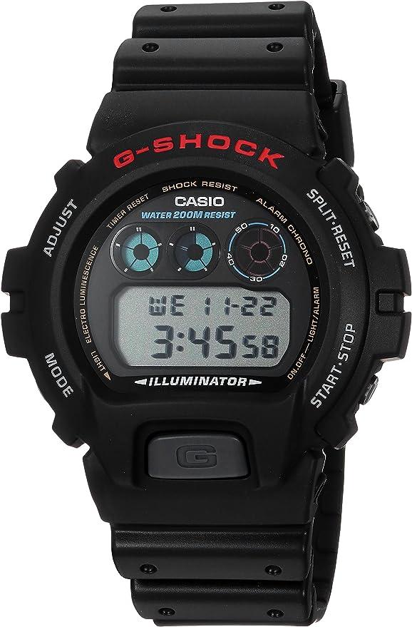 Amazon.com: G-Shock DW6900-1V Reloj para hombre, deportivo ...