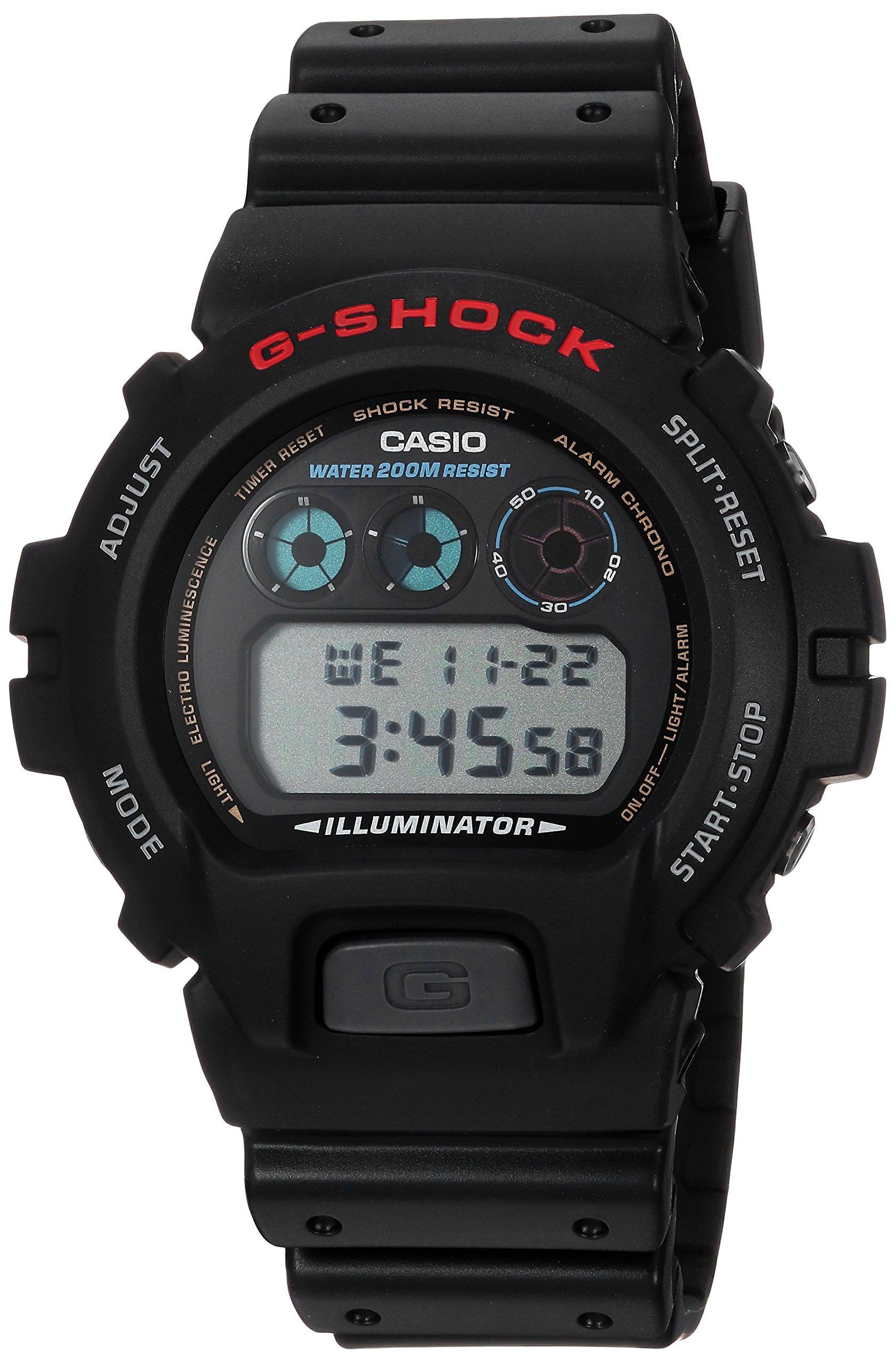 Casio Men's G-Shock DW6900-1V Black Resin Sport Watch by Casio