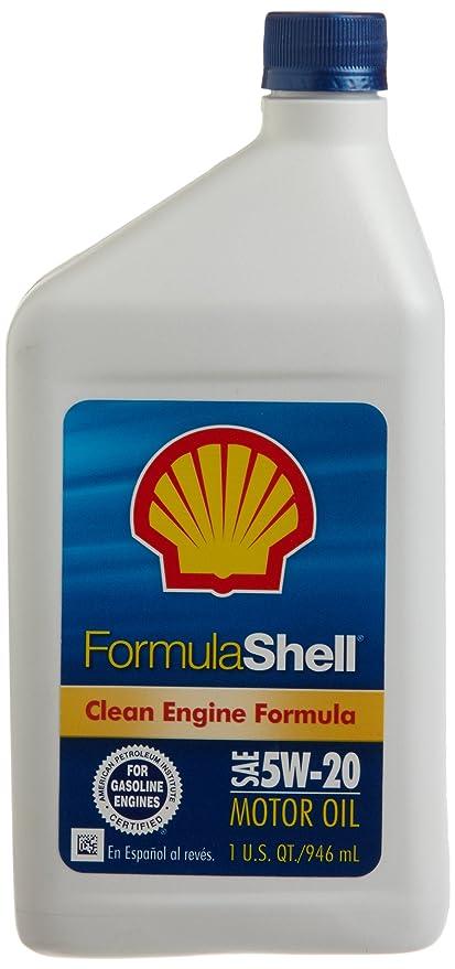 Amazon.com: FormulaShell 550024080 SAE 5W-20 Motor Oil - 1 Quart, (Pack of 12): Automotive