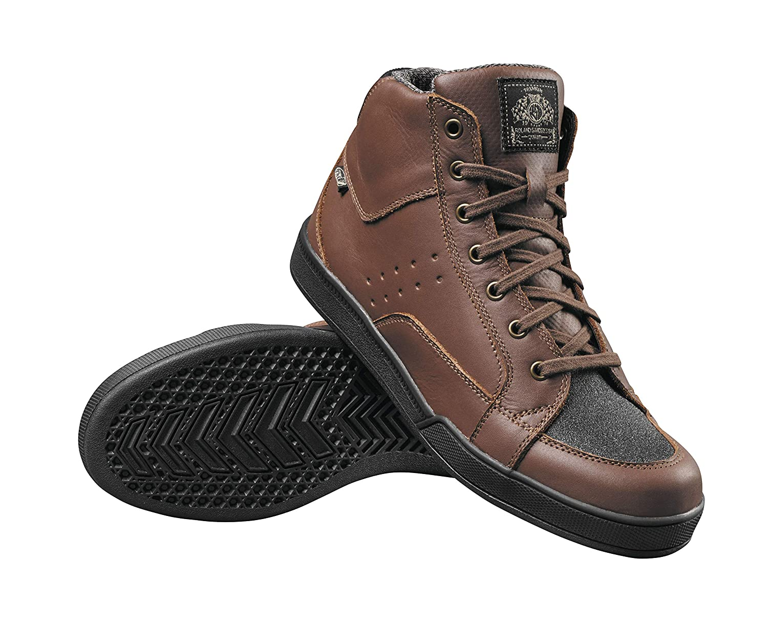 Tobacco 9 Roland Sands Design Fresno Mens Street Motorcycle Shoes