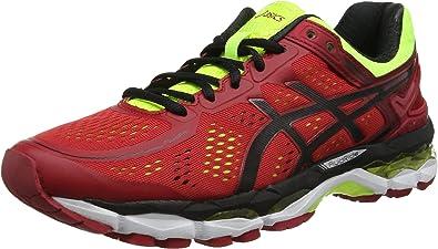 Asics Gel-Kayano 22, Zapatillas de Running Unisex, Rojo/Negro ...