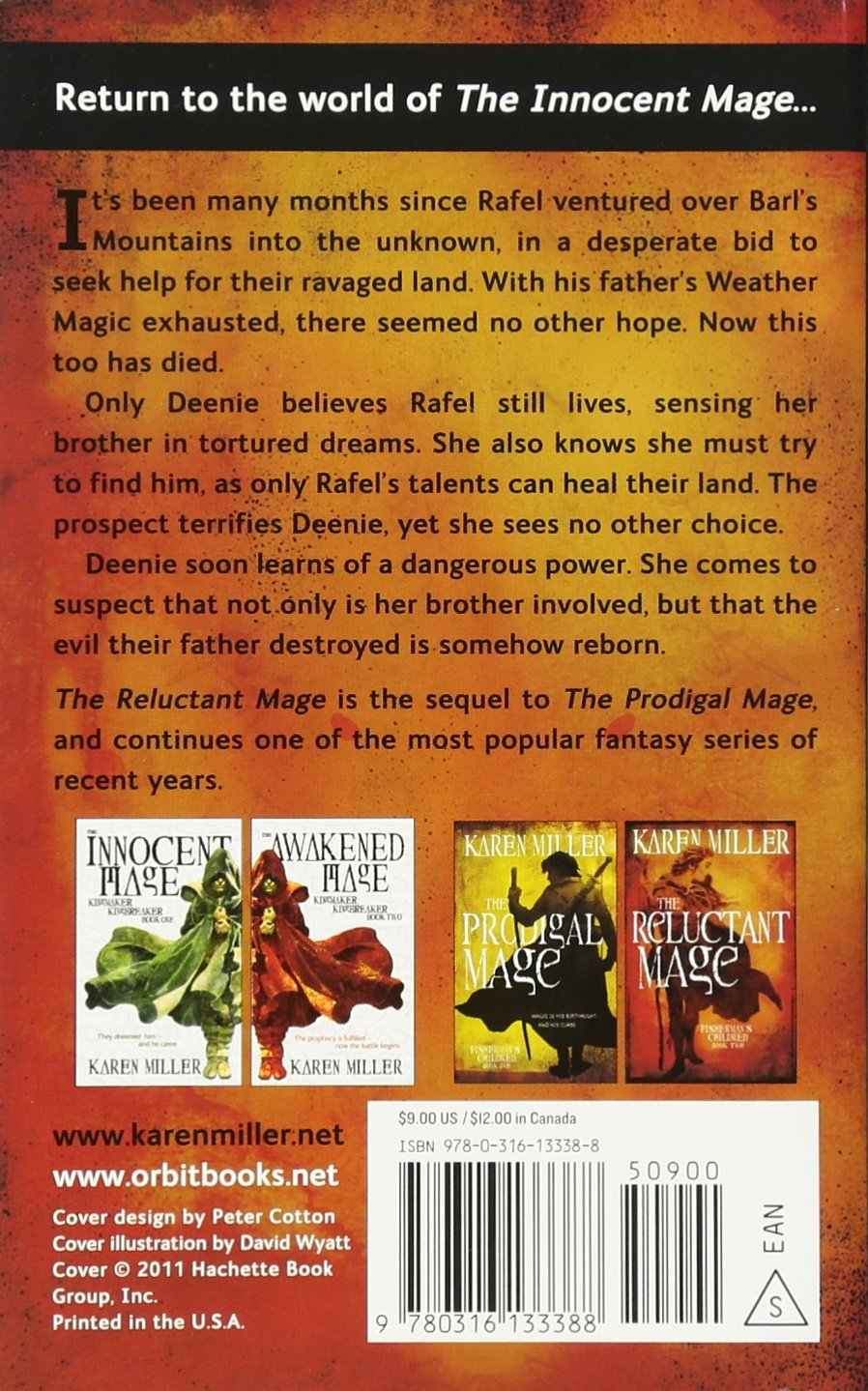 The Reluctant Mage (fisherman's Children): Karen Miller: 9780316133388:  Amazon: Books