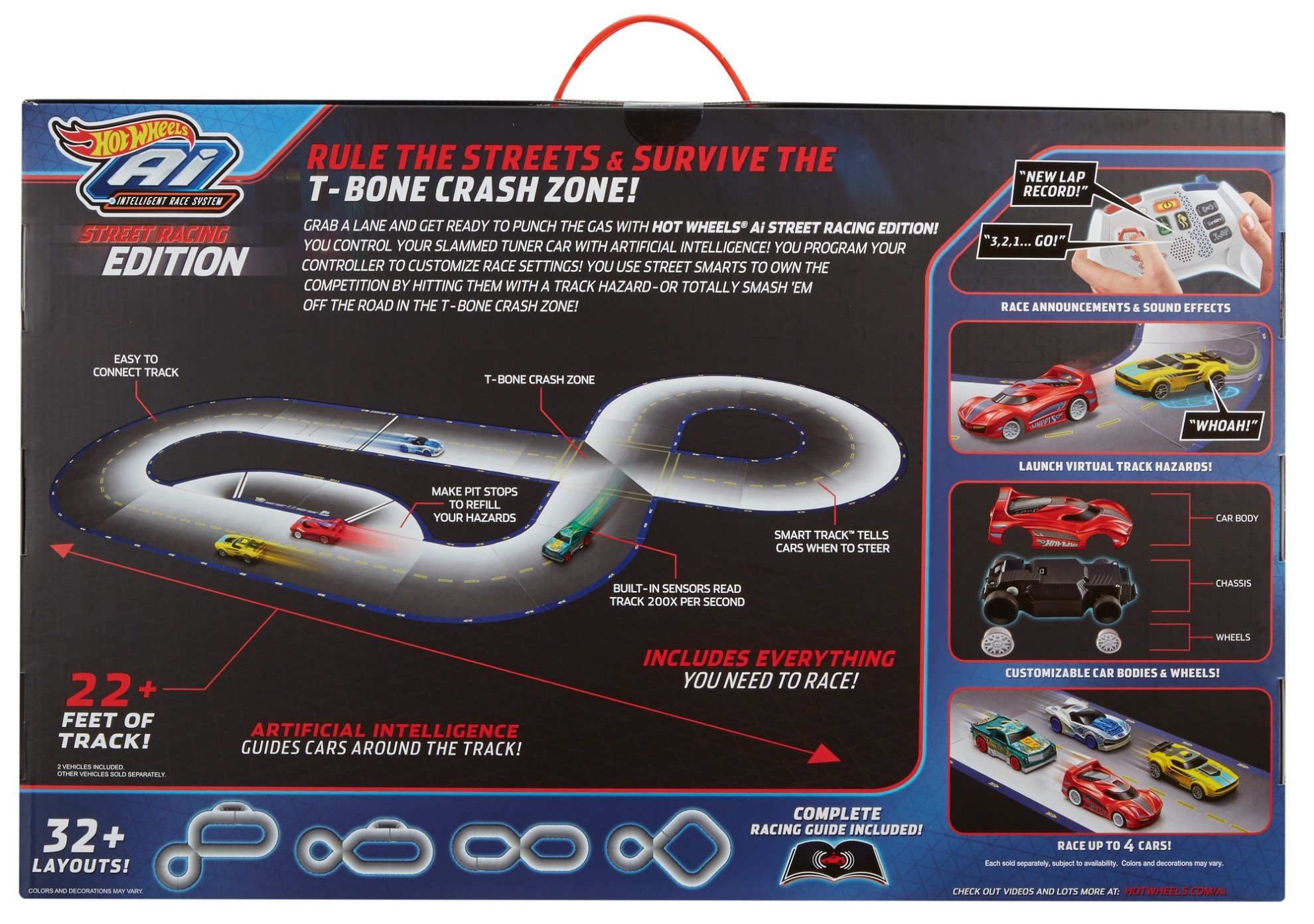 Hot Wheels Ai Starter Set Street Racing Edition by Hot Wheels (Image #23)