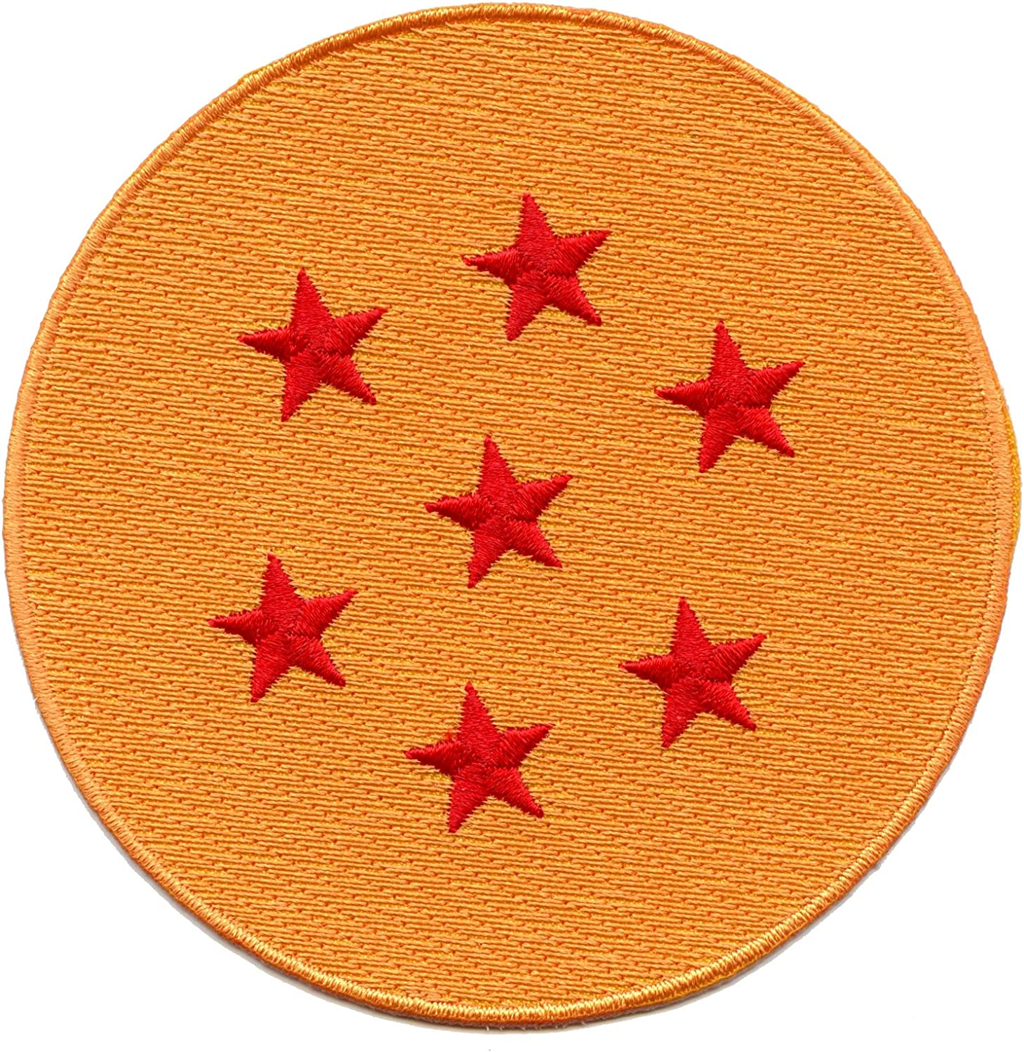 Applique Dragon Ball Z Patch Patch for Jackets Orange Embroidered Sew On Shirts Starry Cloud Yellow Iron On DIY