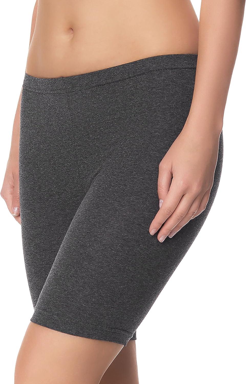 Ladeheid Damen Shorts Radlerhose Unterhose Hotpants Kurze Hose Boxershorts LAMA04