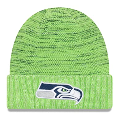 1965e15d0a9 Image Unavailable. Image not available for. Color  New Era Seattle Seahawks  Knit Beanie Cap Hat ...
