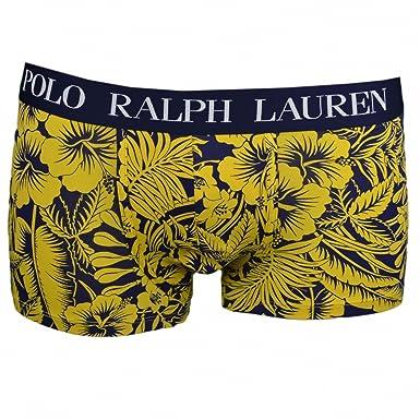99ed1dac6097 Ralph Lauren Boxer Bleu Marine Motif Floral Jaune pour Homme  Amazon.fr   Vêtements et accessoires