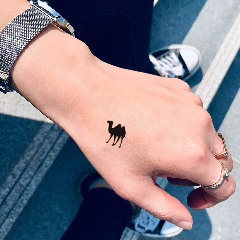 Tatuaje Temporal de Tamaño del dedo del pie del camello (4 Piezas ...