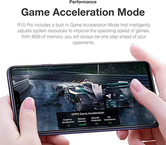 Oppo R15 Pro (Single Sim, 128GB/6GB) - Cosmic Purple [Version Extranjera]: Amazon.es: Electrónica