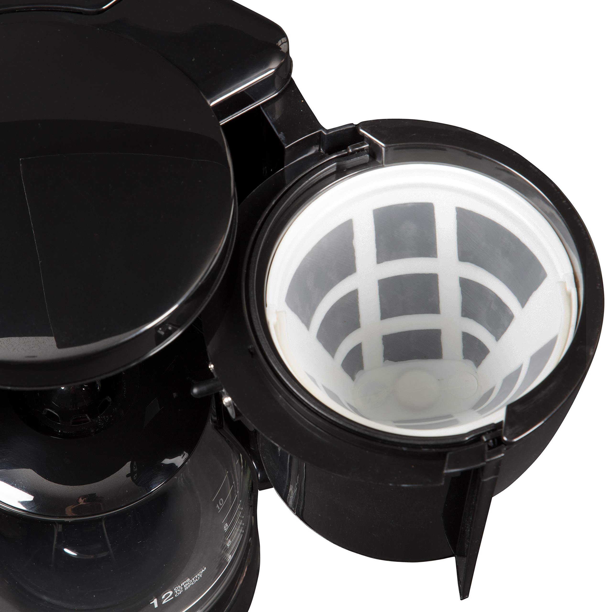 CucinaPro Double Coffee Brewer Station - Dual Coffee Maker Brews two 12-cup Pots, each with Individual Heating Elements by CucinaPro (Image #9)