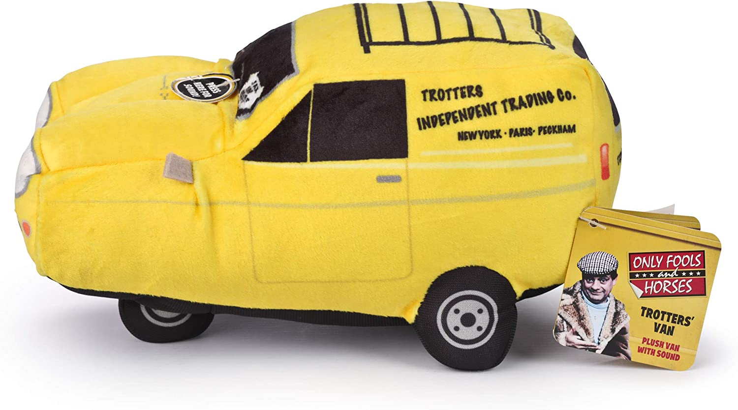 Only Fools and Horses Plush Van Toy with Sound.