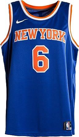 Nike NBA New York Knicks Kristaps Porzingis Swingman Authentic Game Jersey