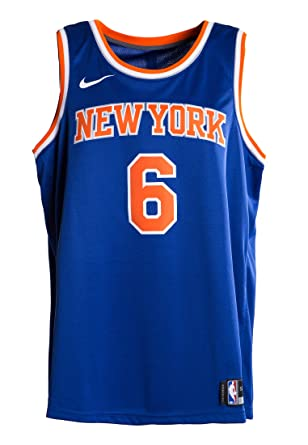 official photos 1e76d 069b2 Nike NBA New York Knicks Kristaps Porzingis Swingman Authentic Game Jersey