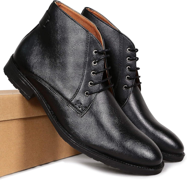 Vegan Shoes Mens Chukka Boots Black