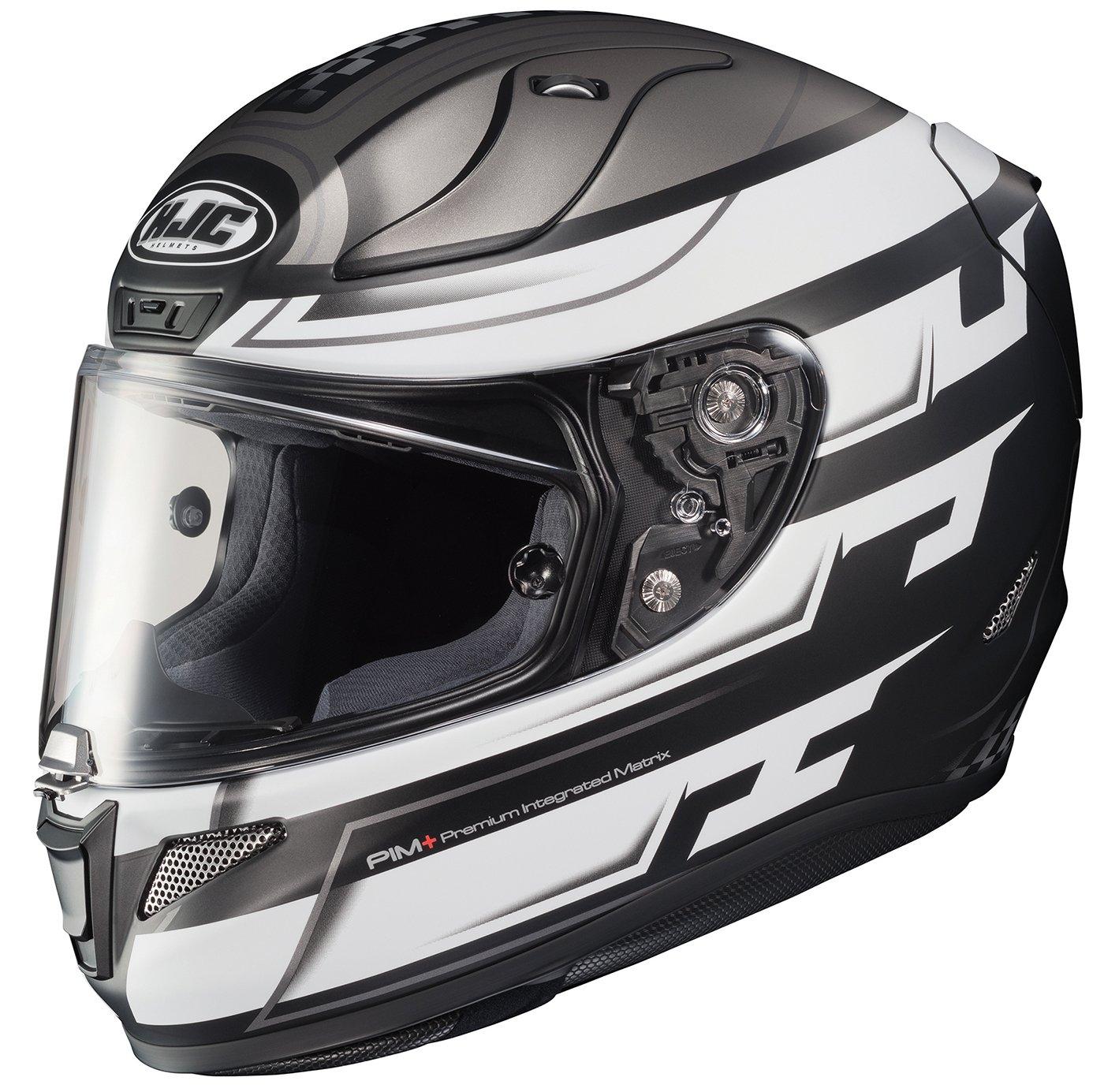 HJC Helmets 1654-756 Silver//White//Black XX-Large Rpha-11 Pro Skyrym Helmet