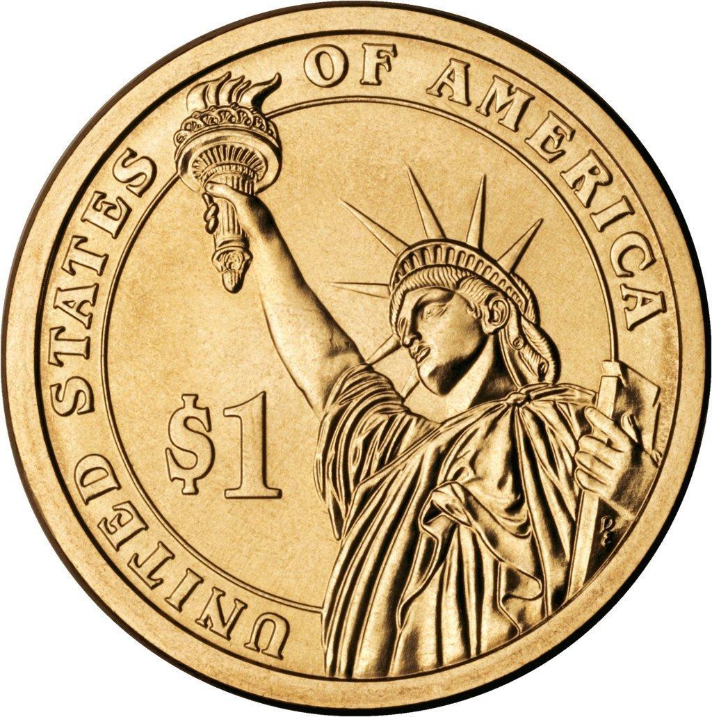 2013 D Presidential Dollar 2013 Denver mint 4 coins Uncirculated