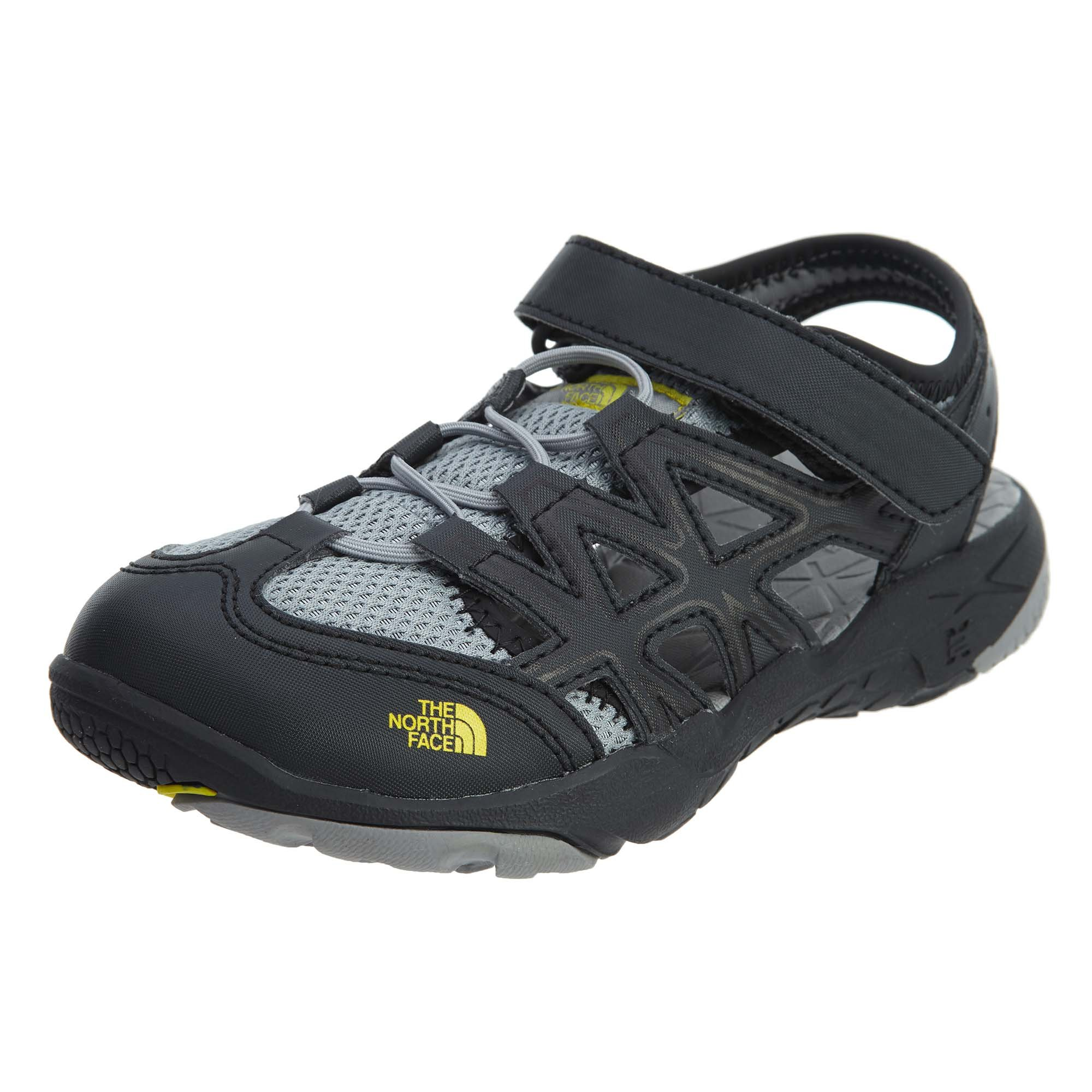 97a12902d The North Face Youth Hedgehog Sandal Phantom Grey/Griffin Grey Size 2 M US