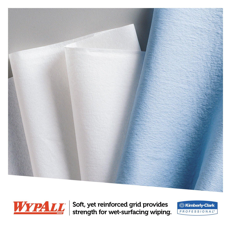 Wypall 03086 L30 Wipers, POP-UP Box, 10 x 9 4/5, White, 120/Box, 10 Boxes/Carton