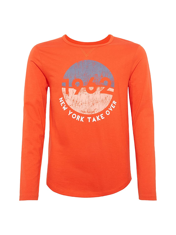 TOM TAILOR für Jungen T-Shirts/Tops Shirt mit Reflektierendem Print