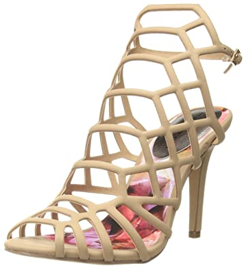 d52bcff42e8 Madden Girl Women s Directt Dress Sandal Nude Paris 6 M US