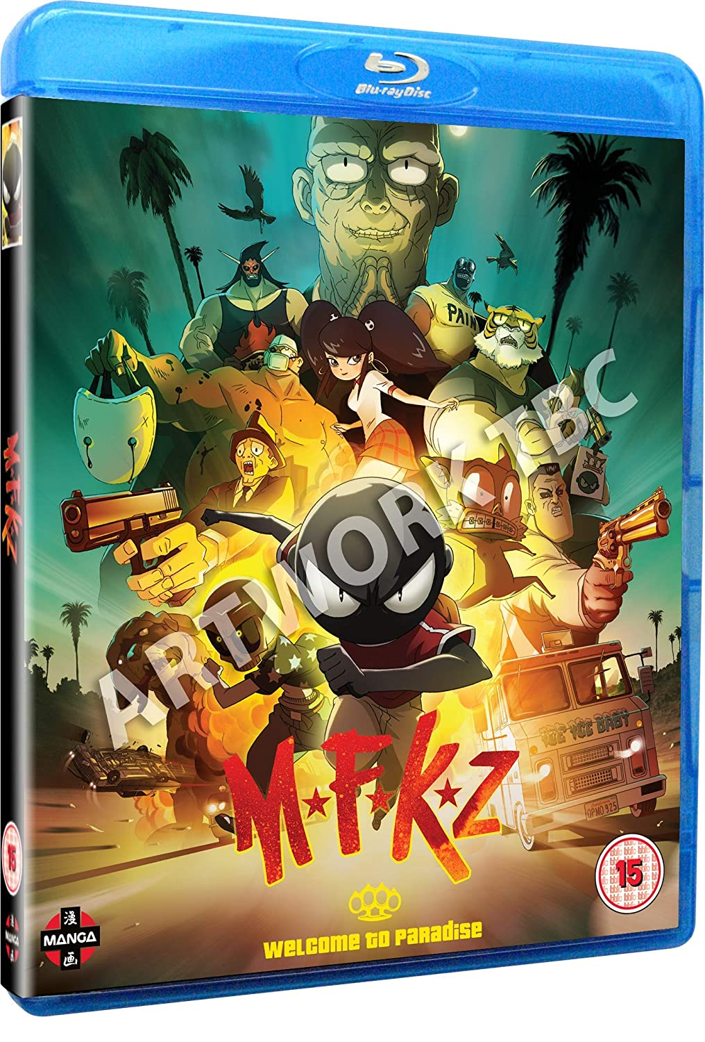 Amazon Com Mfkz Mutafukaz Blu Ray Movies Tv