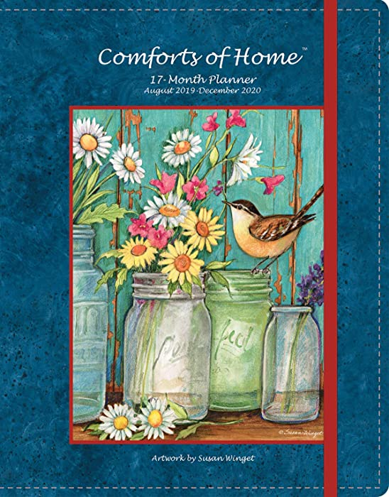 Wells Street by LANG WSBL Comforts of Home 2020 Monthly Planner (20997050020) Personal Organizer (20997050020)