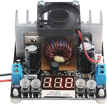 Droking Reglaje del regulador de voltaje ajustable con ventilador ...