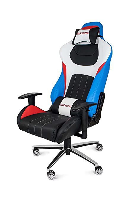 Tremendous Akracing Premium Style Gaming Chair Red White Blue Amazon Gmtry Best Dining Table And Chair Ideas Images Gmtryco