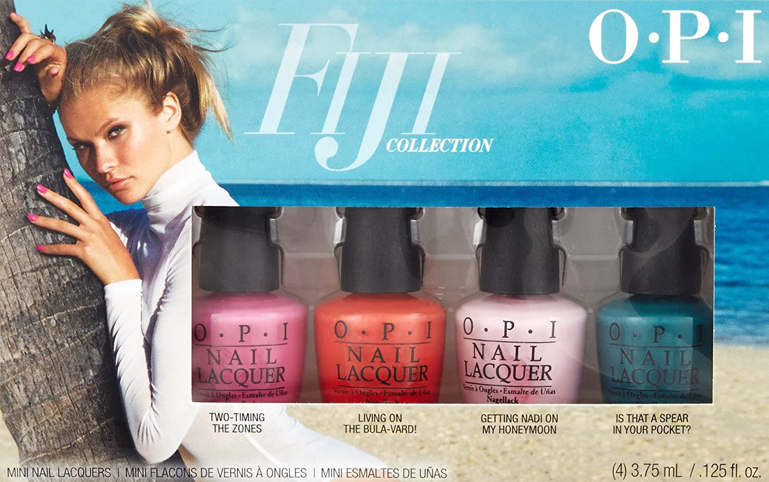 OPI Estuche De Regalo - Set 4 x 3.75 ml. (Total 15 ml.): Amazon.es