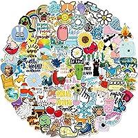 Stickers for Water Bottles, 100 Pack/PCS Hydroflask Stickers Aesthetic Waterproof Cute Vsco Vinyl Stickers Laptop…