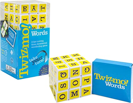 Twizmo! Words Family Strategy Word Game with Twist Cube