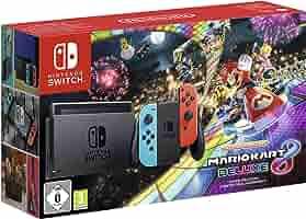 Nintendo Switch - Consola + Mario Kart 8 Deluxe Bundle (Código ...
