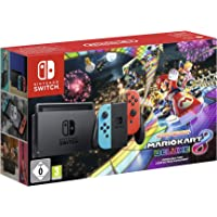 nintendo_switch;-NINTENDO SWITCH CONSOLE MARIO KART 8 DELUXE BUNDLE