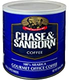 Office Snax OFX33000 Chase and Sanborn Coffee,100 Percent Arabica, 34.5 oz