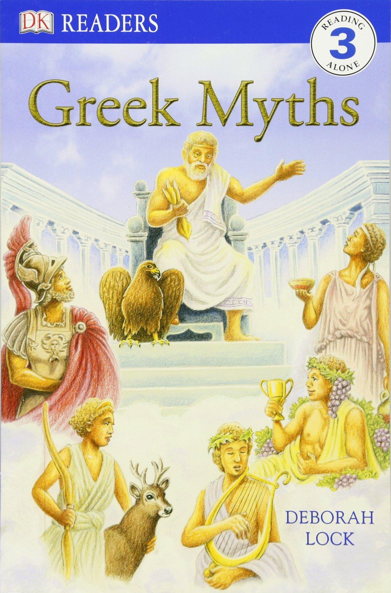 amazon com dk readers l3 greek myths 0690472040156 deborah