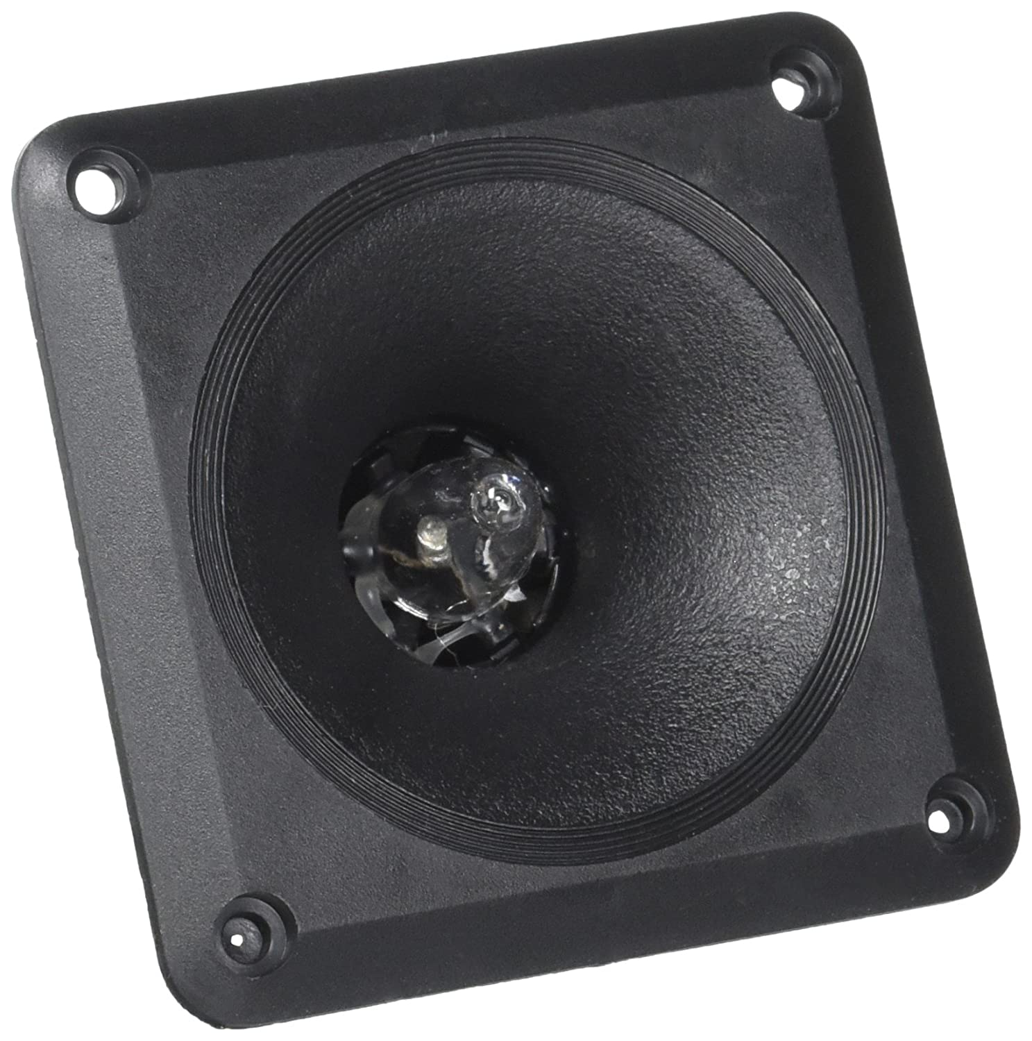 Blast King 73BICE50 3 1/4-Inch Square Tweeter with Illuminated Blue LED Center