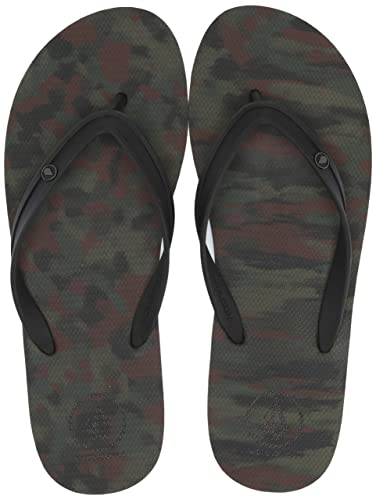 3b1bfd0c3 Amazon.com  Volcom Men s Rocker 2 Solid Flip Flop Sandal  Shoes