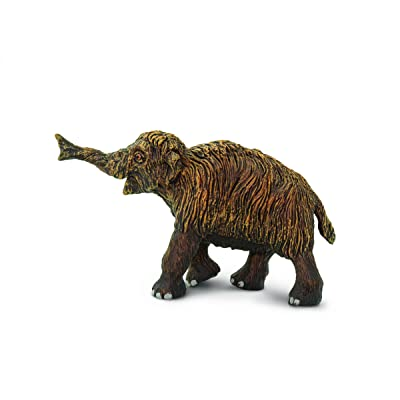 Safari Ltd Wild Safari Dinosaur and Prehistoric Life Woolly Mammoth Baby Toy Figurine by Safari: Toys & Games