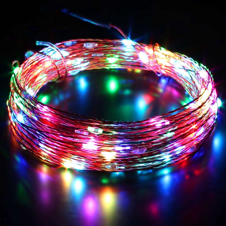 Aukey LT-SS3 LED Lichterkette Kupferdraht Farbwechsel: Amazon.de ...