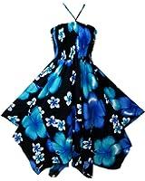 Pikulla Zigzag Hem Women's Bloom Chaba B Gypsy Sundress Multicoloured One Size SML
