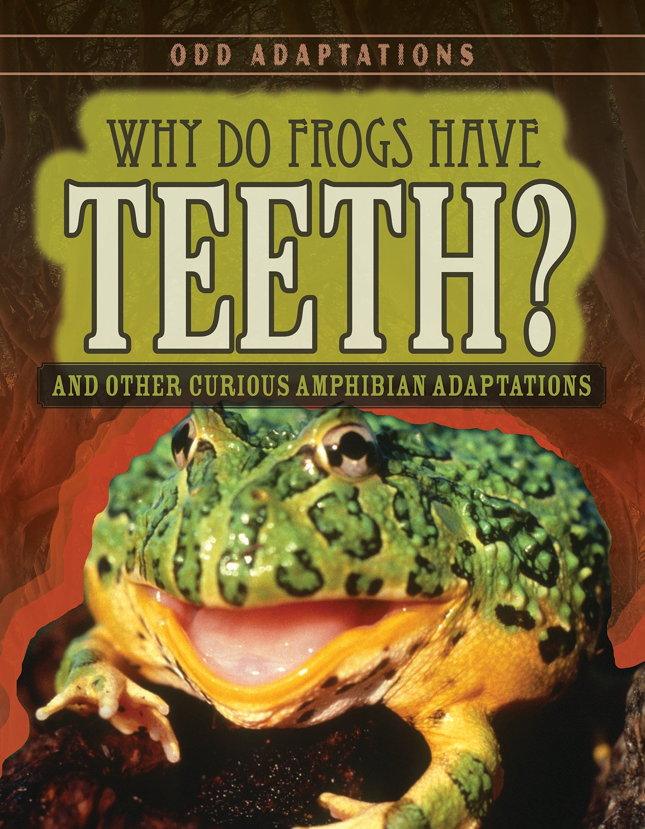 Download Why Do Frogs Have Teeth?: And Other Curious Amphibian Adaptations (Odd Adaptations) PDF