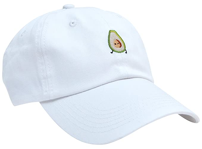 Avocado Embroidery Cap