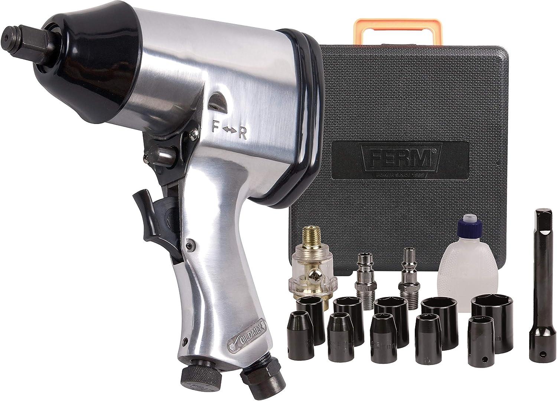 FERM ATM1043 Atornillador de percusión por aire comprimido (1/2
