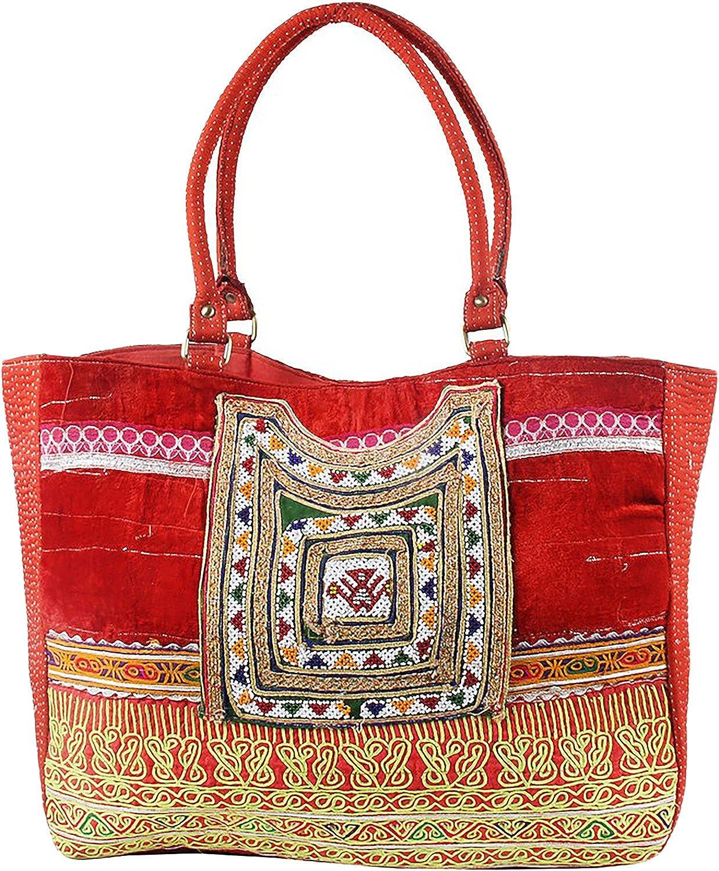 JTH Indian Traditional Work Handmade Shoulder Bag Women Hand Bag