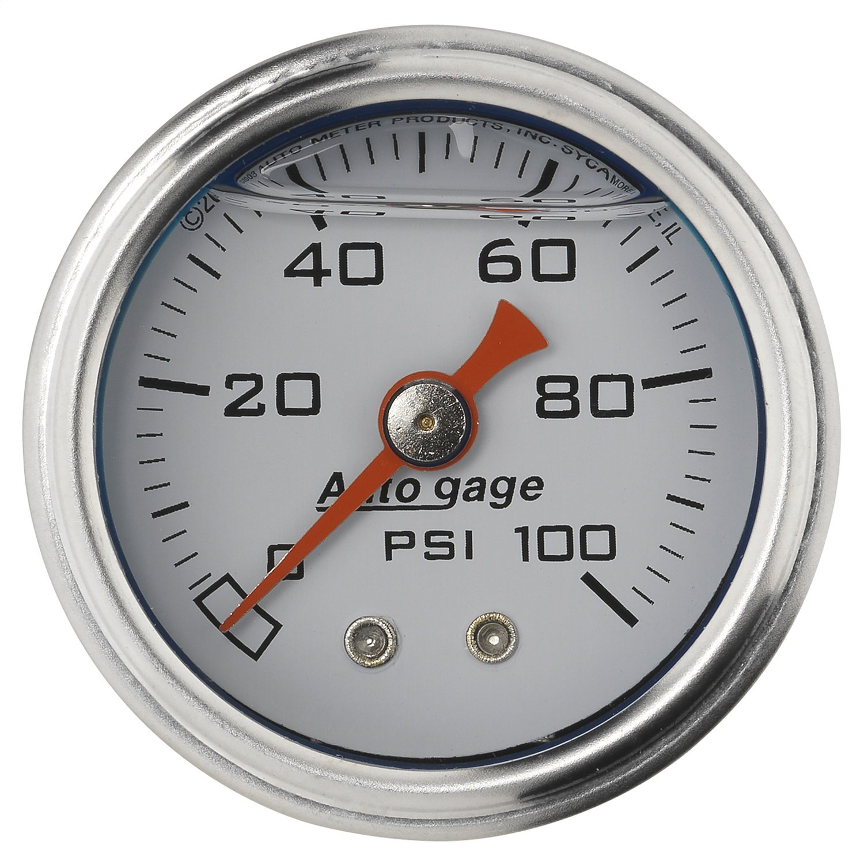 Auto Meter 2177 Autogage Mechanical Fuel Pressure Gauge