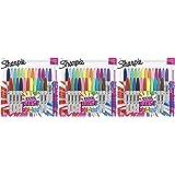 Sharpie Color Burst Markers, Fine Point, 24 Ct - 3 Pack