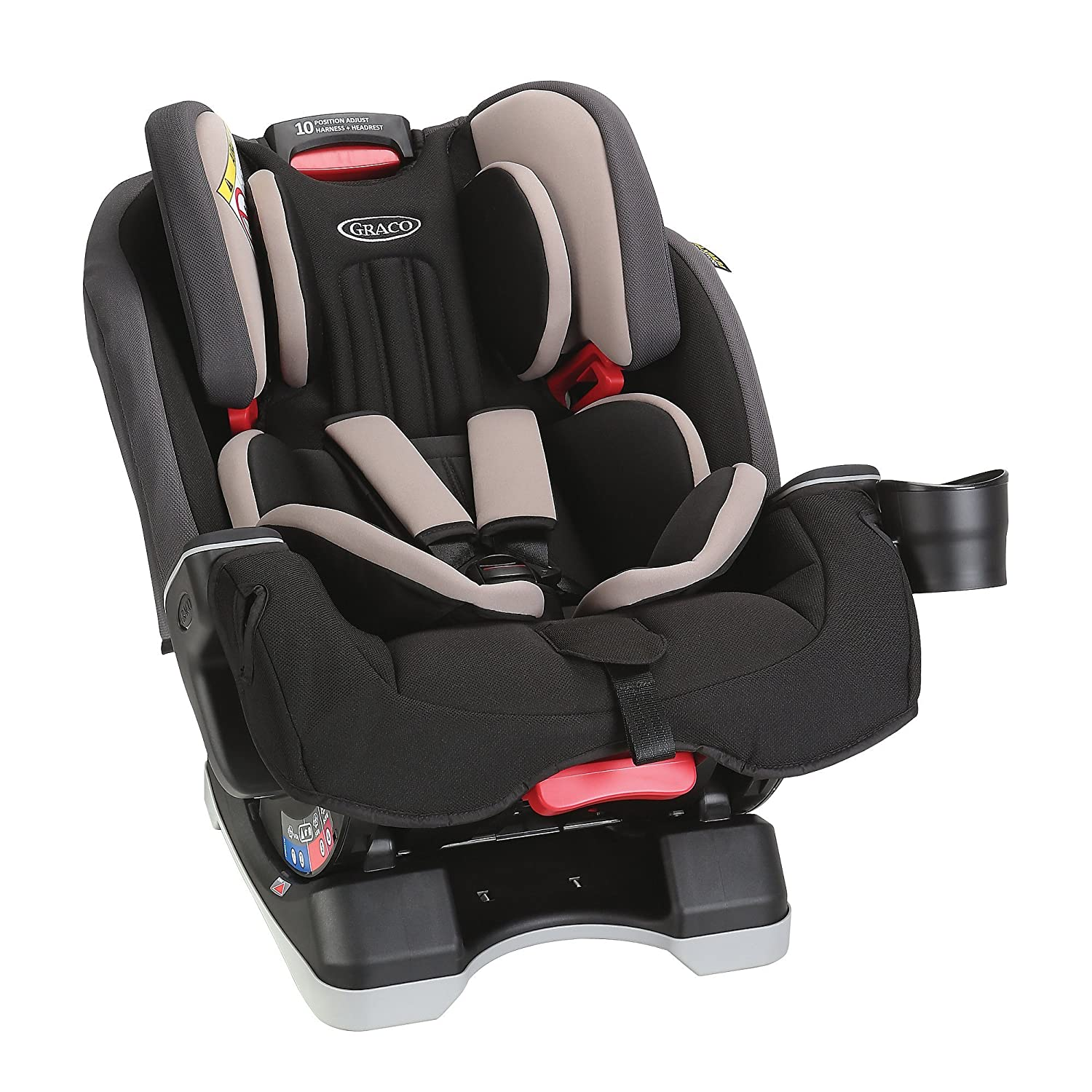 Graco Milestone All In One Car Seat Group 0 1 2 3 Aluminium Amazoncouk Baby