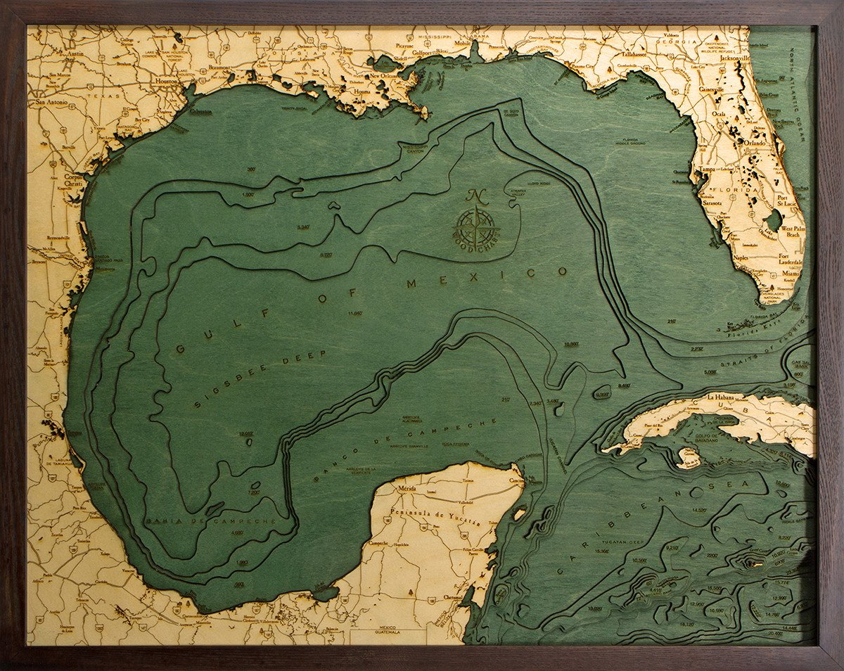 Gulf Of Mexico Topographic Map – Topographic Map Mexico